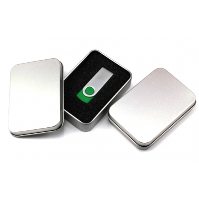 USB compact tin Packaging