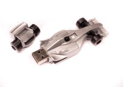 Plastic F1 Car shape USB