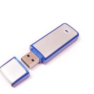 Plastic-Metal USB Flash Drives